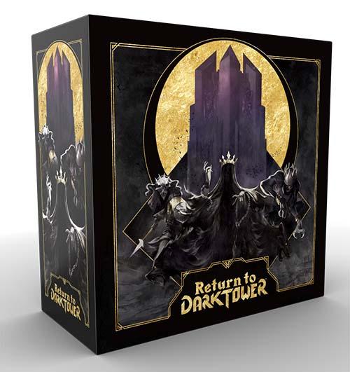 Portada del juego de mesa return to the dark tower
