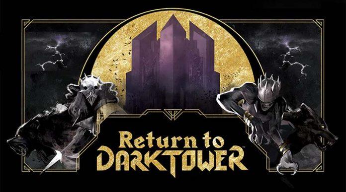 Imagen promocional del juego de tablero return to the dark tower