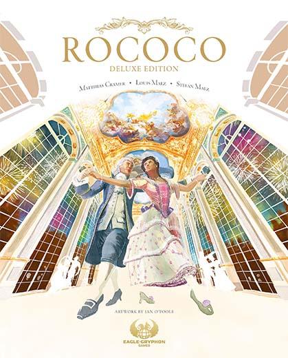Portada de la edición deluxe de Rococo