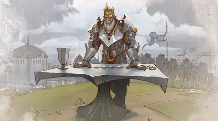 Ilustración de Tellstones: King's Gambit