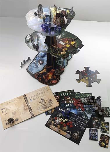 Componentes de Yggdrasil Chronicles