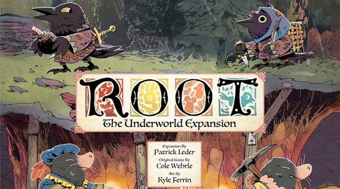 Portada Root: The Underworld, la segunda expansión de Root