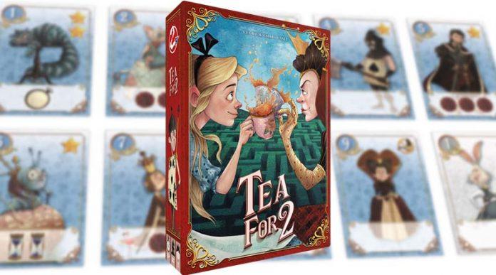 Portada del juego de cartas Tea for 2