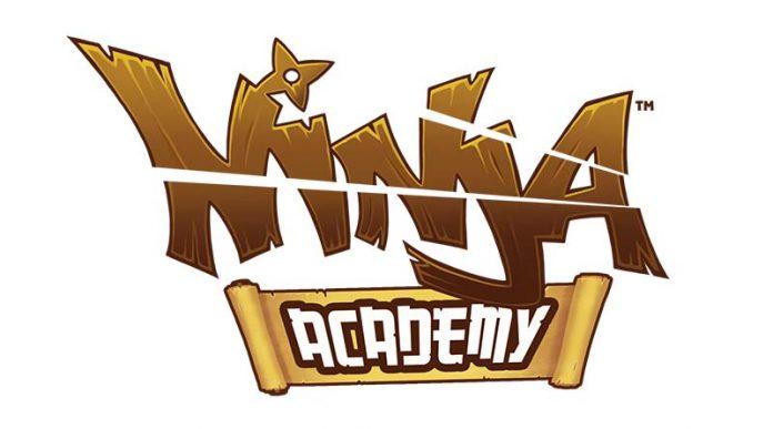 Logotipo de academia Ninja
