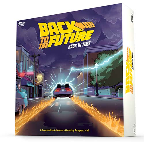 Portada de Back to the Future: Back in Time
