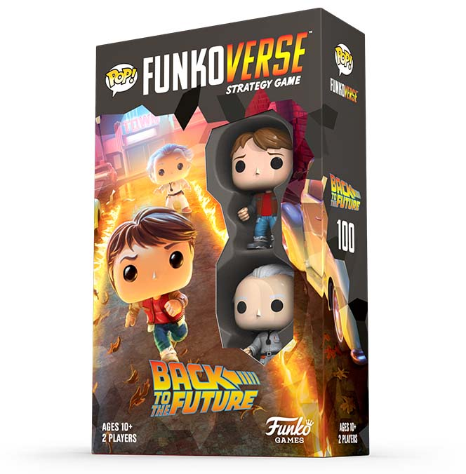 Caja de Back to the future funkoverse