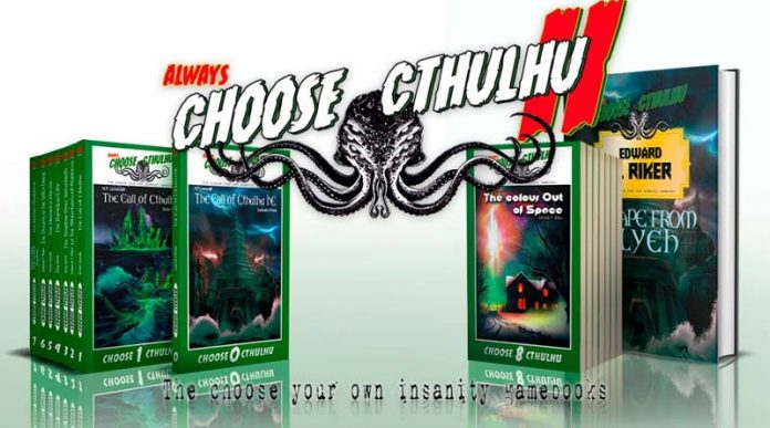 La colección de librojuegos Choose Cthulhu II