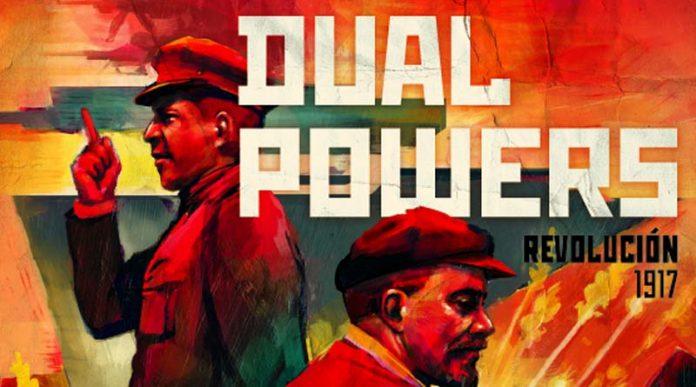 Logotipo del juego de mesa Dual Powers: Revolution 1917