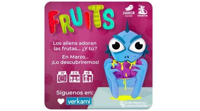 datos del juego de mesa Fruits