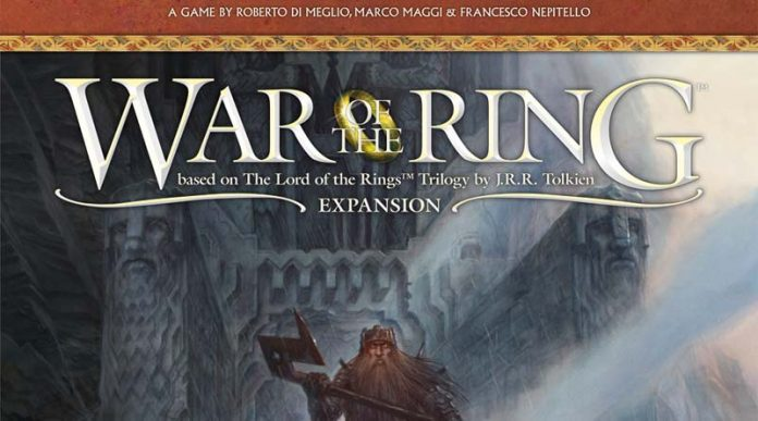 Portada de War of the Ring: Kings of Middle-earth