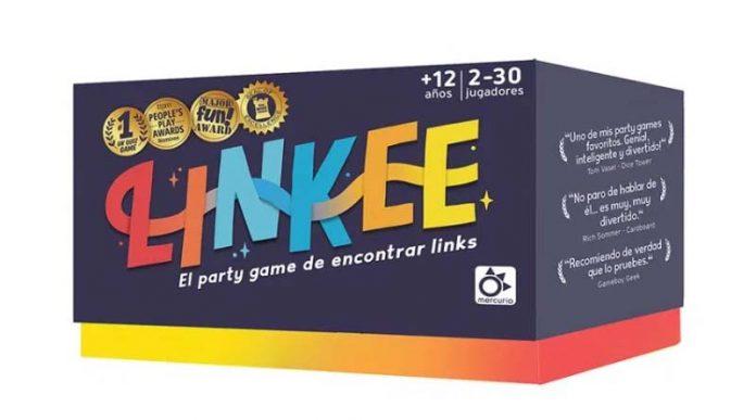 Caja del juego de tablero Linkee