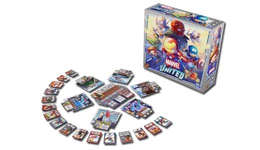 El juego de mesa Marvel United