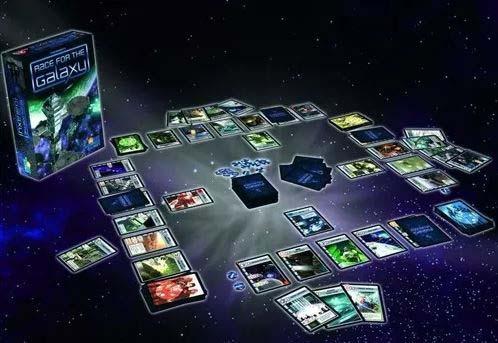 Componentes de la segunda edición de Race for the Galaxy