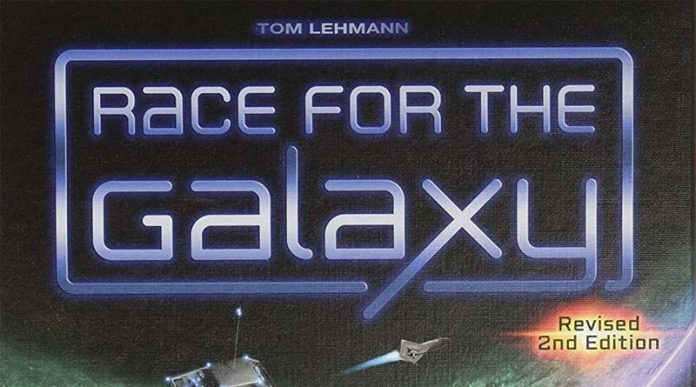logotipo de la segunda edición de Race for the Galaxy