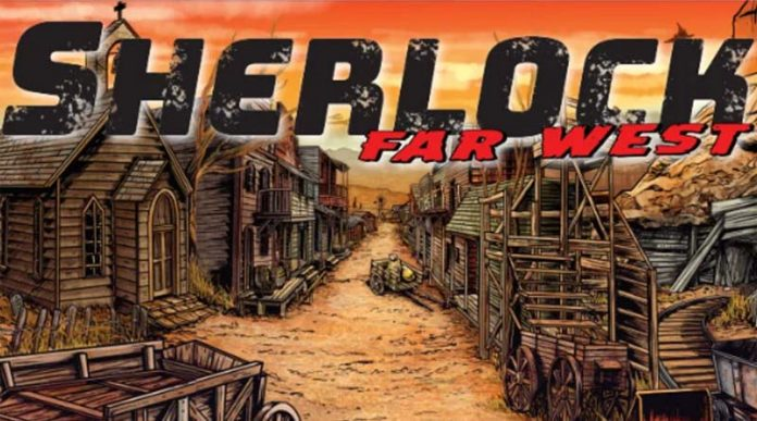 Ilustración de Sherlock far West