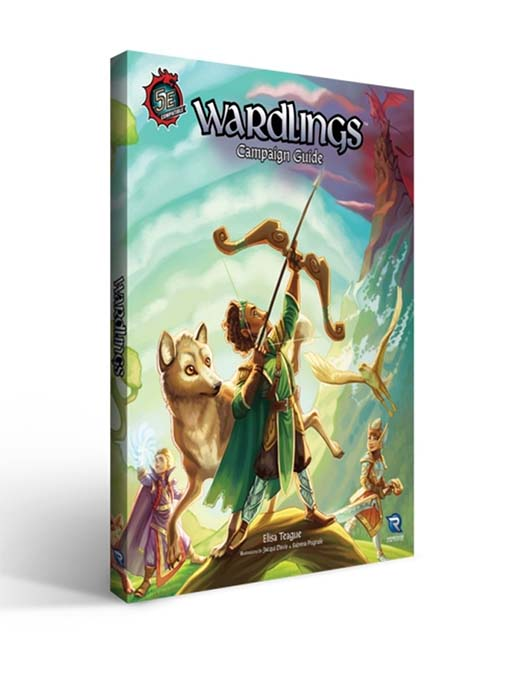 Portada del RPG wardlings