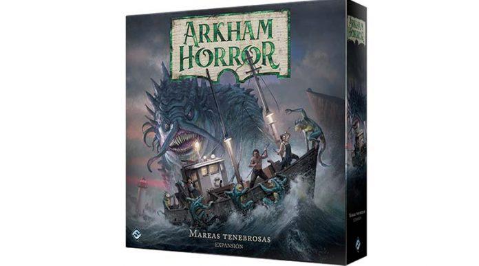 Portada de Arkham Horror: Mareas Tenebrosas