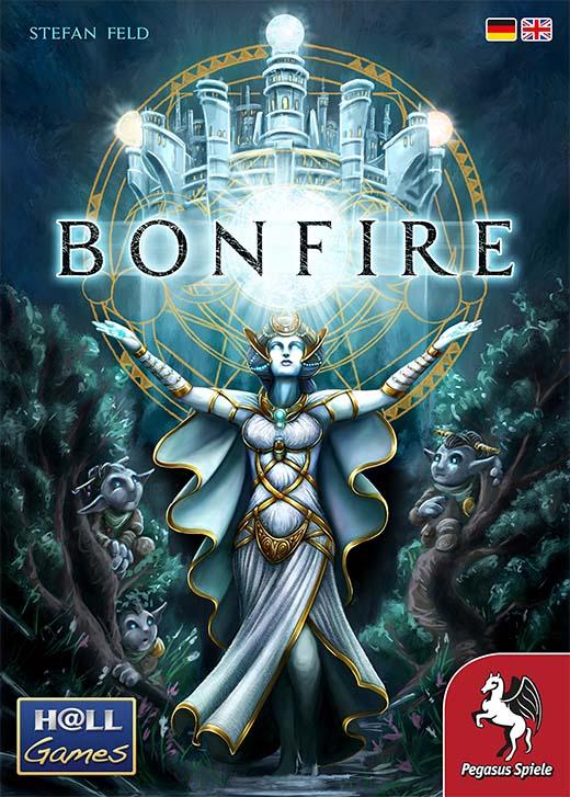 Portada del juego de mesa Bonfire