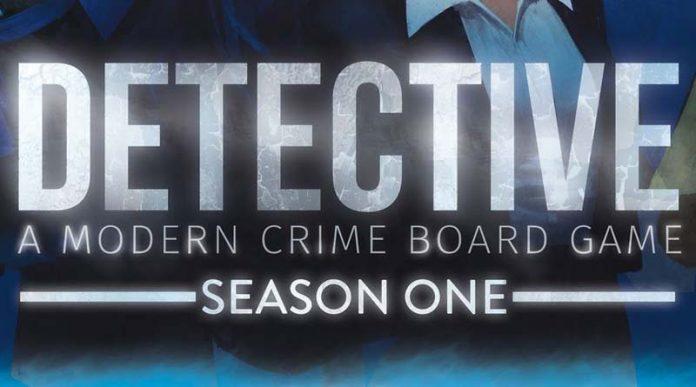 Logotipo el juego de mesa Detective season one