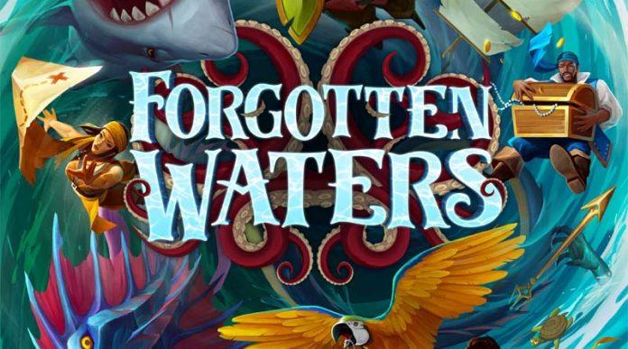 Logotipo del juego de mesa Forgotten Waters