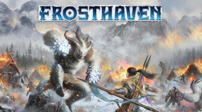 Portada del juego de mesa de Frosthaven