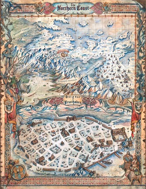 Mapa de Frosthaven