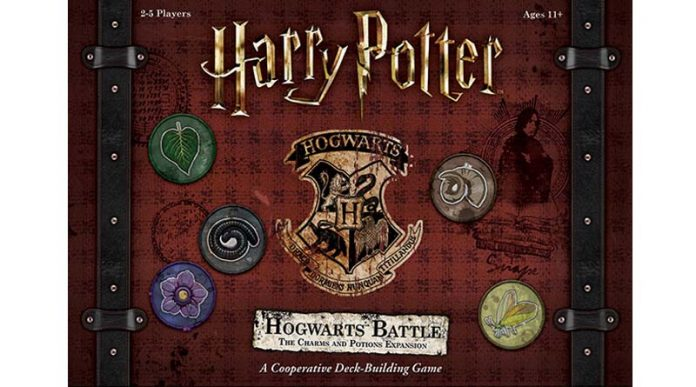 portada de Harry Potter: Hogwarts Battle, The Charms and Potions Expansion