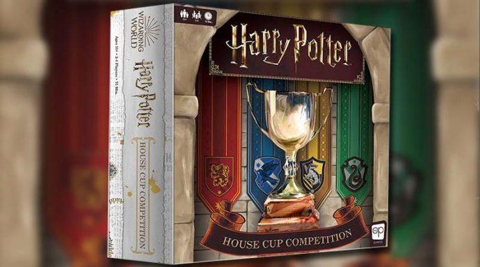 Portada del juego de mesa Harry Potter: House Cup Competition