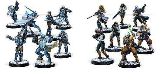 Miniaturas del pack Operation: Kaldstrom de Infinity CodeOne