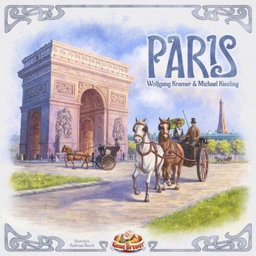 Portada del juego de mesa París