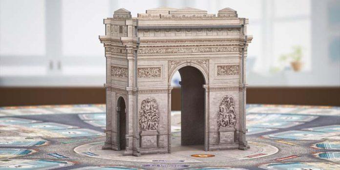 Arco del triunfo del juego París