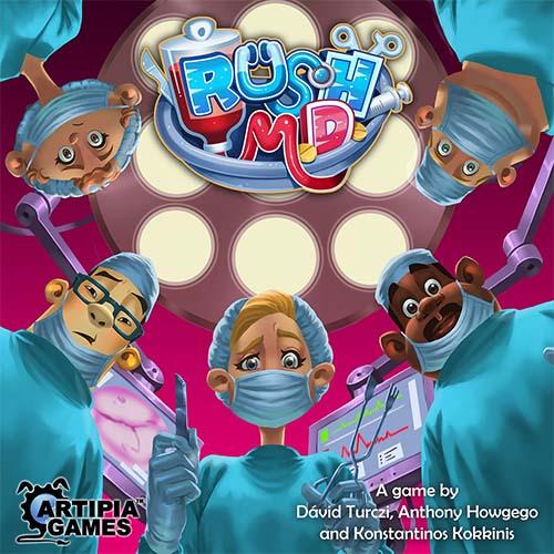 portada del juego de mesa Rush MD