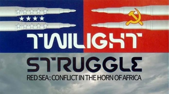 Logotipo de Twilight Struggle: Red Sea, Conflict in the Horn of Africa