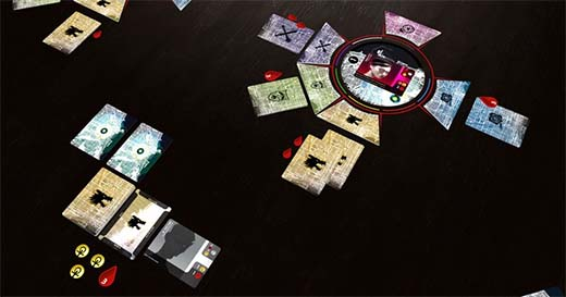 Partida al juego de tablero Vampiro: The Mascarade, Vendetta
