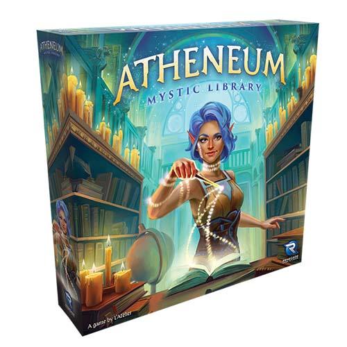 Portada del juego de mesa Atheneum: Mystic Library