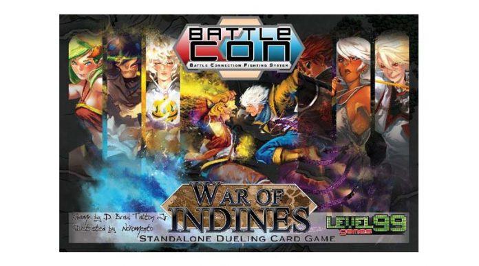 Portada de Battlecon War of Indines