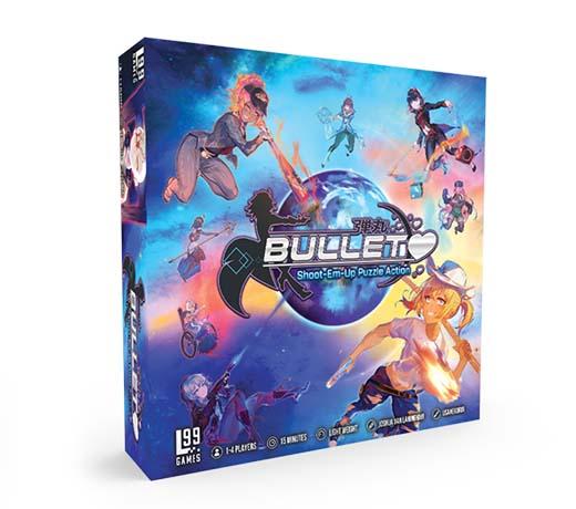 Portada del juego de mesa Bullet