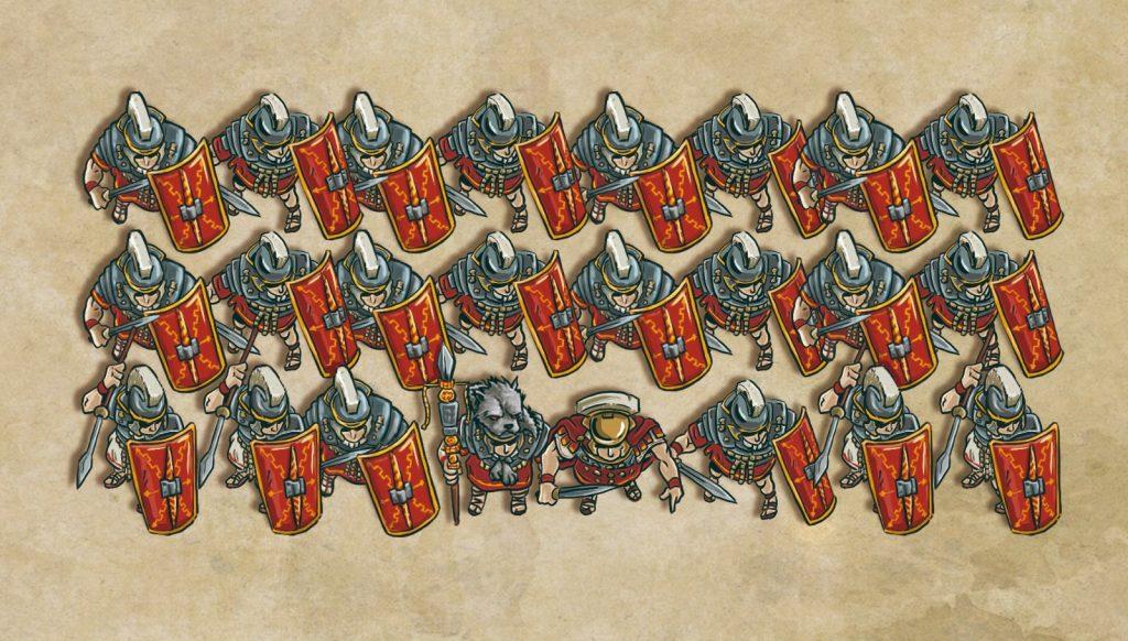 Diseño tropas en ONUS! Traianus