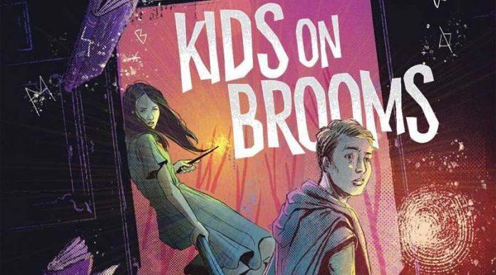 Portada de Kids on Brooms