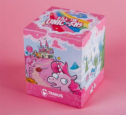 Caja del juego de mesa Kill The Unicorns