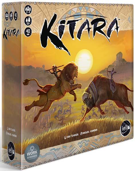 Portada del juego de tablero Kitara
