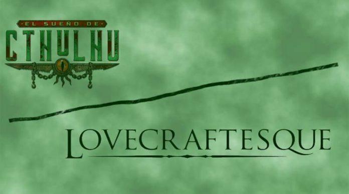 Logotipos de El sueño de Cthulhu y Lovecraftesque