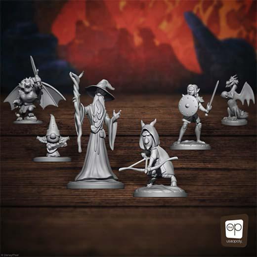 Miniaturas del juego de rol Quest of Yore