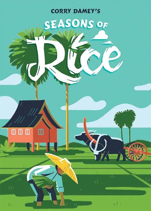 Portada del juego de tablero Seasons of Rice
