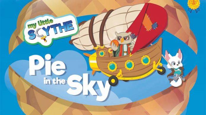 Portada de la expansión para My Little Scythe Pie In the Sky