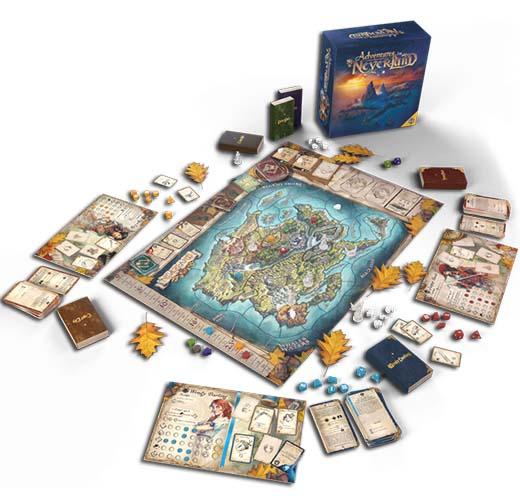 Componentes de Adventures in Neverland