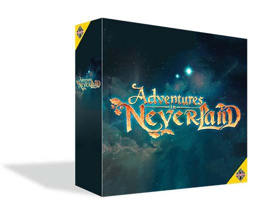 Portada de Adventures in Neverland