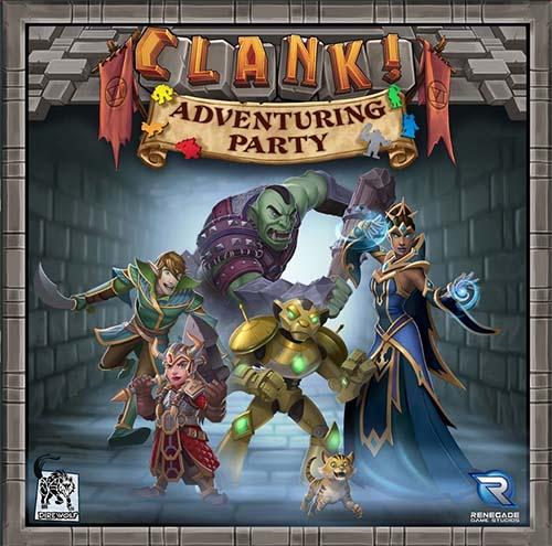 Portada de Clank! Adventuring Party