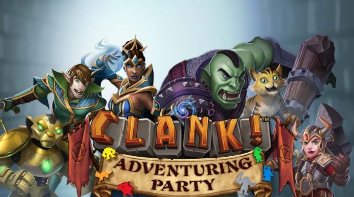 Logotipo de Clank! Adventuring Party