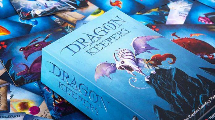 Portada del juego de mesa Dragon Keeper
